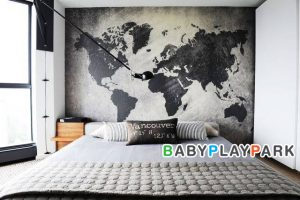 5 แผนที่โลก สำหรับห้องของลูกน้อยในวัยเรียน !